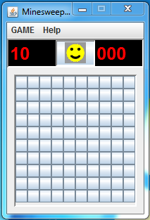 Minesweeper Game in Java with Source-Code | Hasib