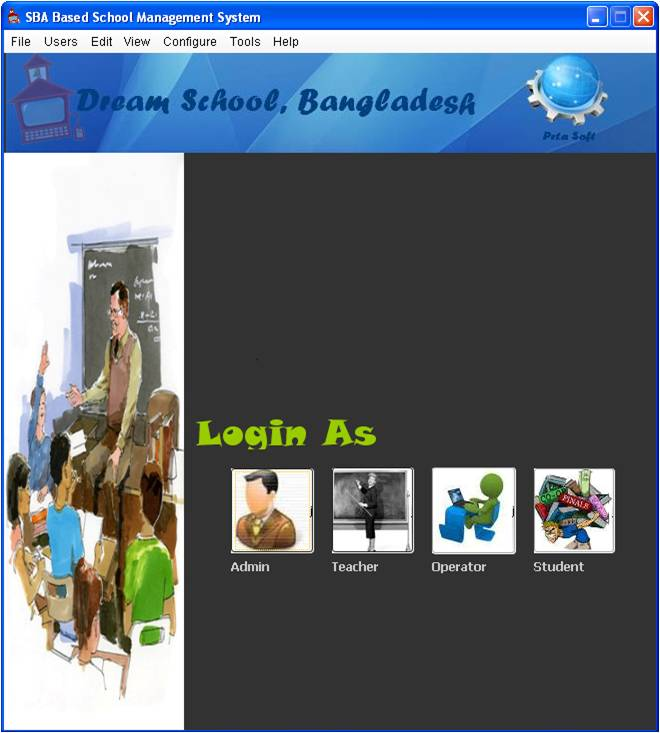 School Management System In Java